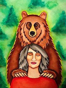 medicine bear Rita Loyd